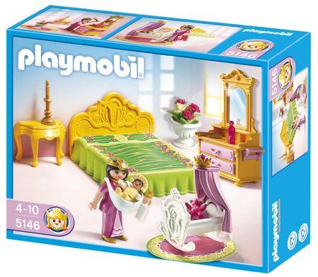 Playmobil kraljevska spalnica z zibko 5146 mimovrste for Salle a manger playmobil