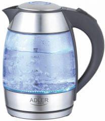 Adler grelnik vode AD1246 1.8L, 2000 W, steklo