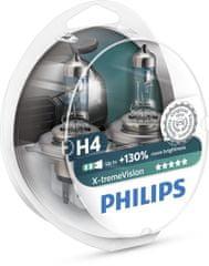 Philips Par žarnic H4 X-treme Vision + 130%