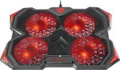 Genesis Gaming stojalo z ventilatorjem za prenosnik OXID 250