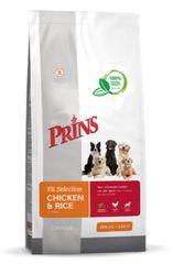 Prins hrana za pse Fit Selection Dog Chicken & Rice, 15 kg