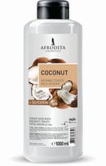 Kozmetika Afrodita Coconut tekoče milo + glicerin, 1 l